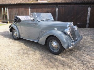 1947 Standard Flying 14 Drophead Coupe  SOLD