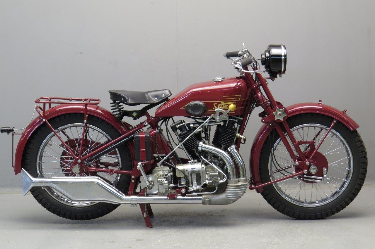 Standard V-twin 1000cc IOE 1930 For Sale (picture 1 of 6)