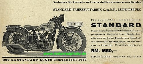 Standard V-twin 1000cc IOE 1930 For Sale (picture 6 of 6)