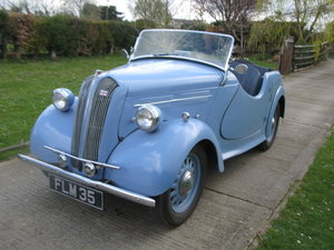 1939 Standard Flying Eight Tourer pre-war SOLD
