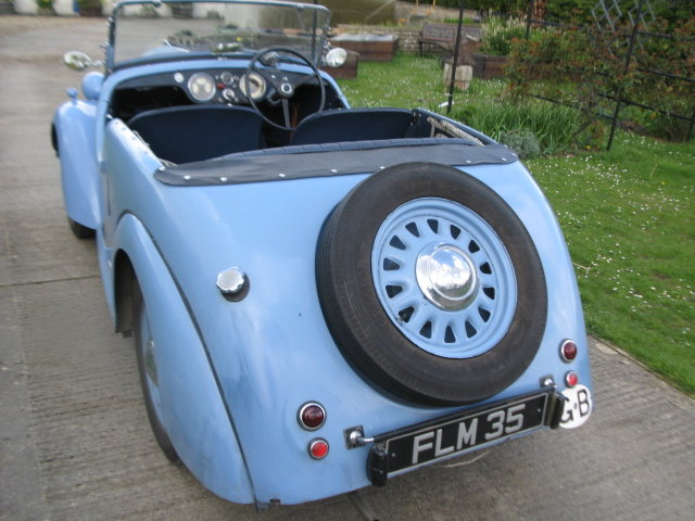 1939 Standard Flying Eight Tourer pre-war SOLD (picture 2 of 6)