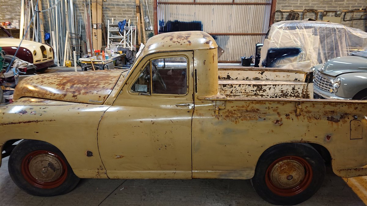 1949 STANDARD  VANGUARD PICK UP For Sale (picture 2 of 6)
