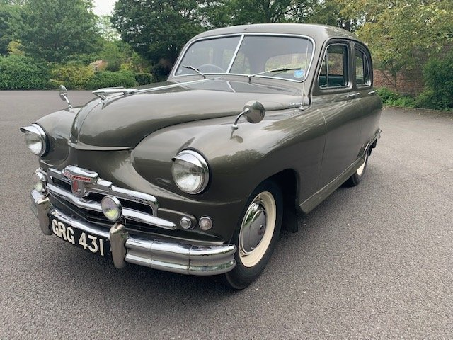**NEW ENTRY** 1954 Standard Vanguard SOLD by Auction (picture 1 of 1)