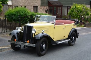 1933 Standard Big Nine Four Door Tourer For Sale by Auction