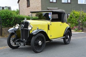 1931 Standard Little Nine Two Seat with Dickie For Sale by Auction