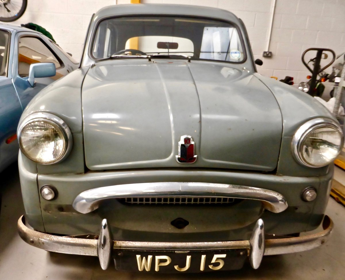 1955 Standard Ten Saloon For Sale (picture 4 of 5)