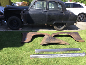 1953 Standard Vanguard phase 2 for restoration.