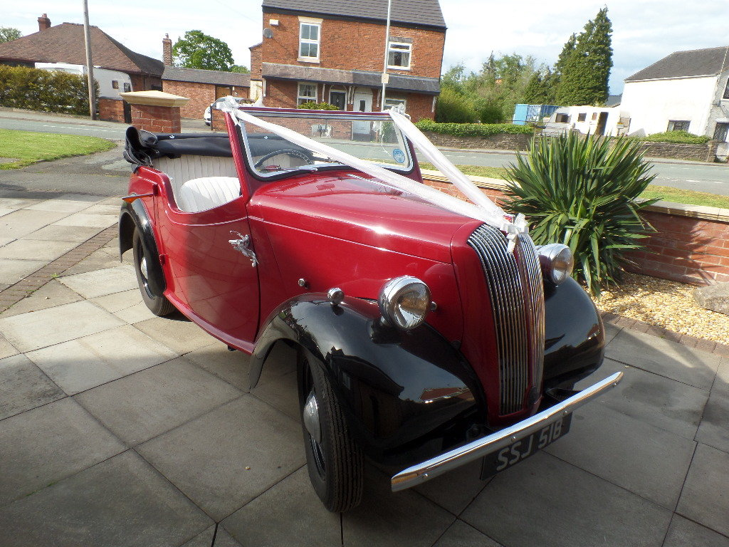 Standard flying eight coupe - 1948 - charming cond For Sale (picture 1 of 6)