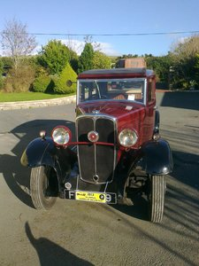 1931 Standard Big 9 For Sale