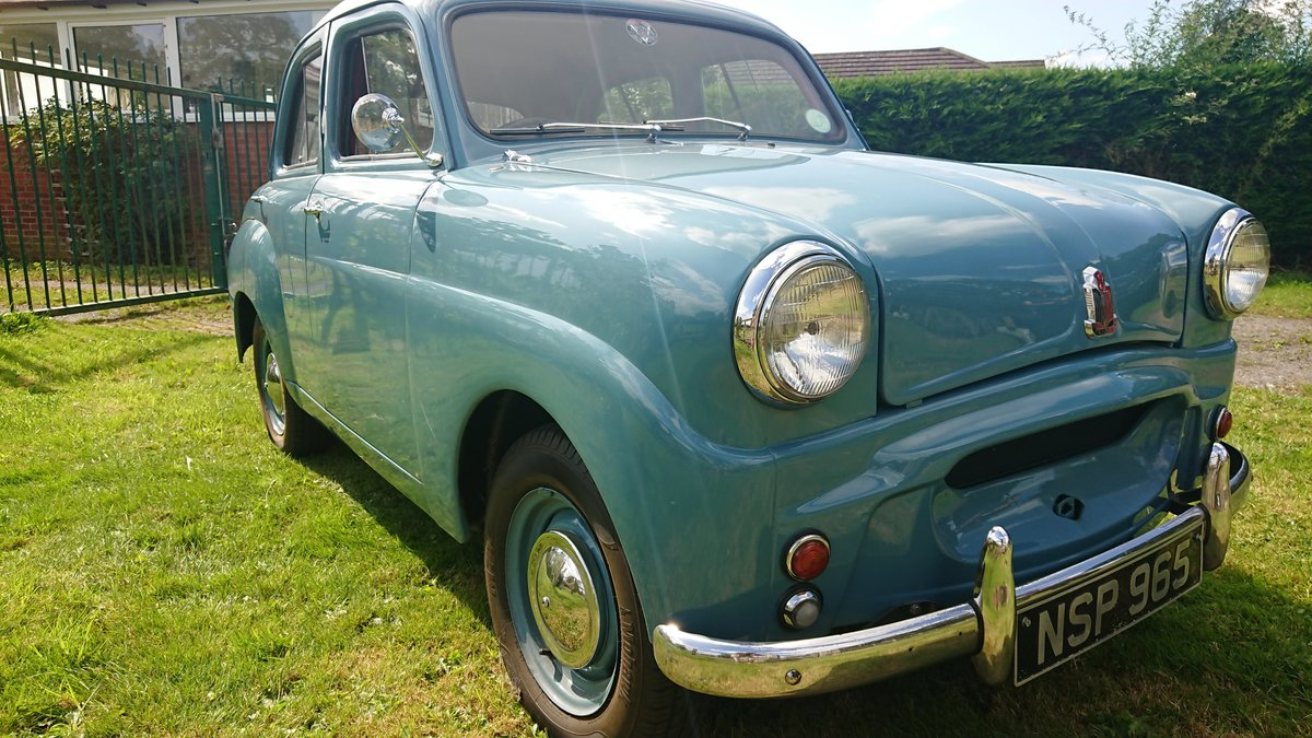 1955 Standard 8 - Genuine 17000 miles from new SOLD (picture 1 of 6)