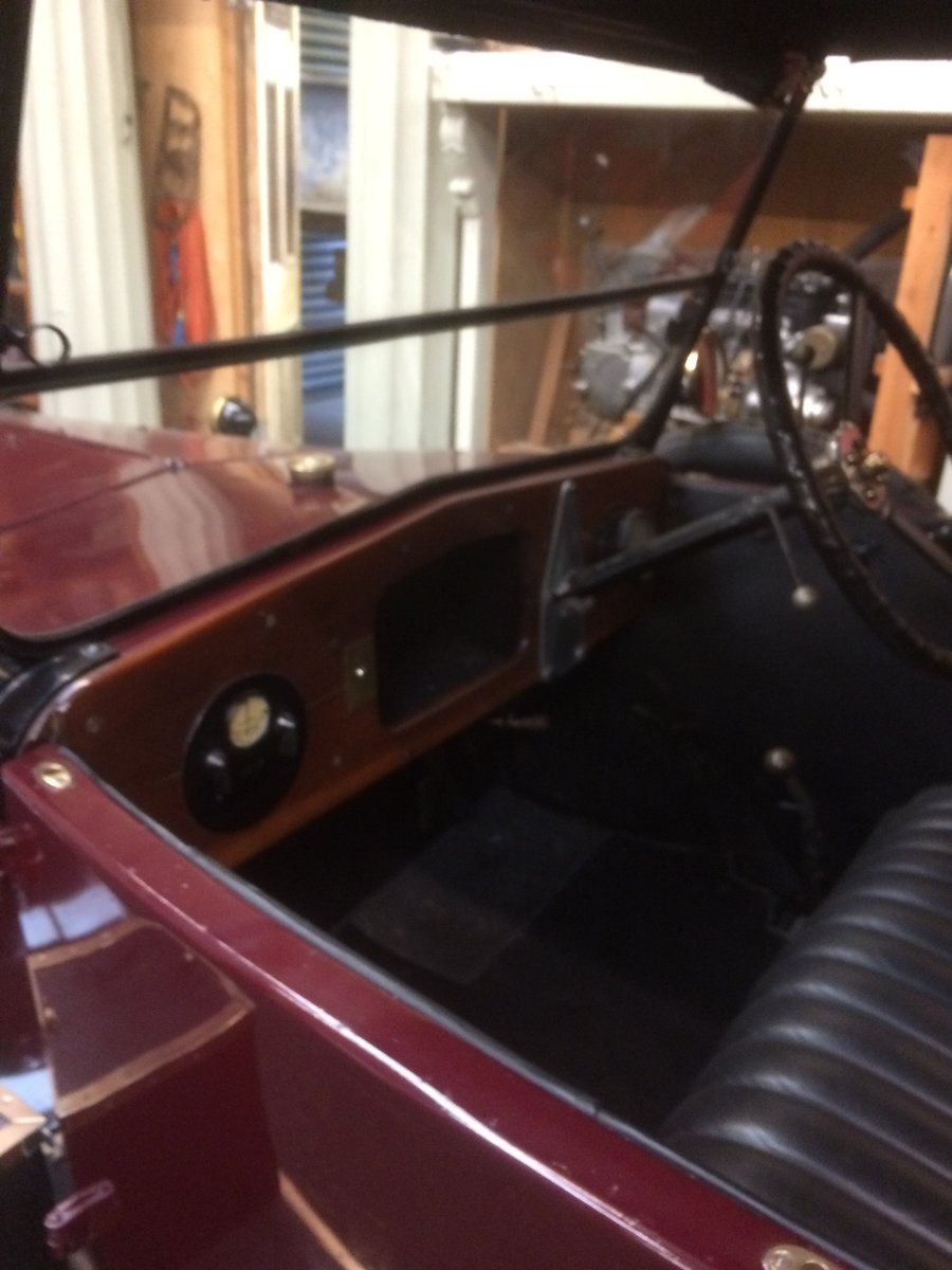 1925 Standard 11hp 4 Seater Tourer. For Sale (picture 5 of 6)