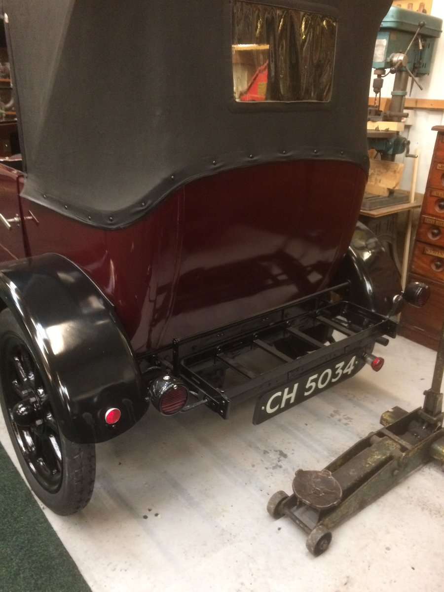 1925 Standard 11hp 4 Seater Tourer. For Sale (picture 6 of 6)