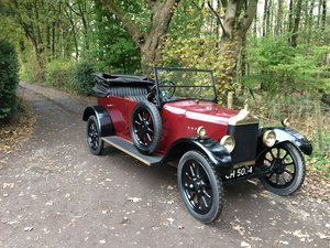 1925 Standard 11hp 4 Seater Tourer. For Sale