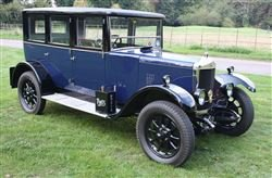 1926 SL04 Park Lane Saloon - Tuesday 10th December 2019 For Sale by Auction