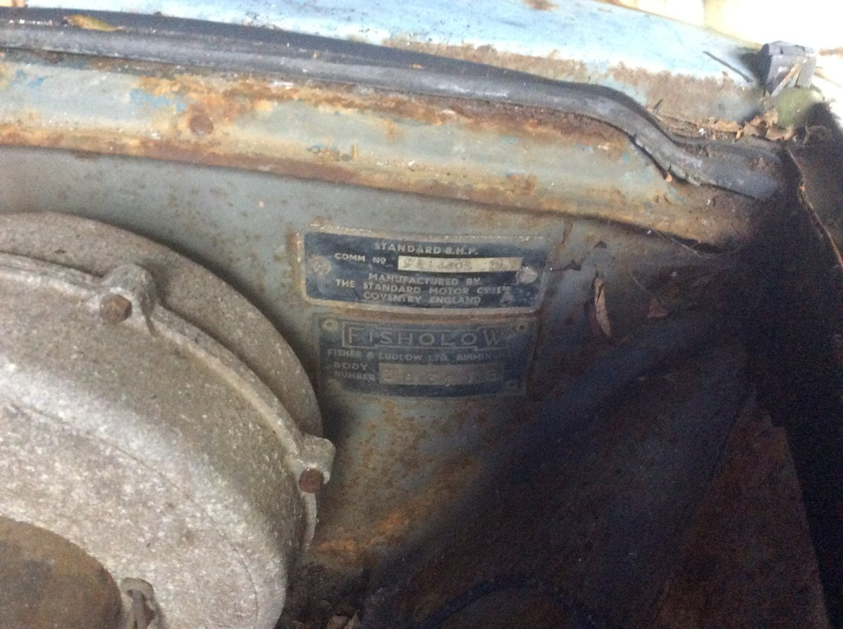 1953 Standard 8 barn find spares or repairs For Sale (picture 2 of 6)
