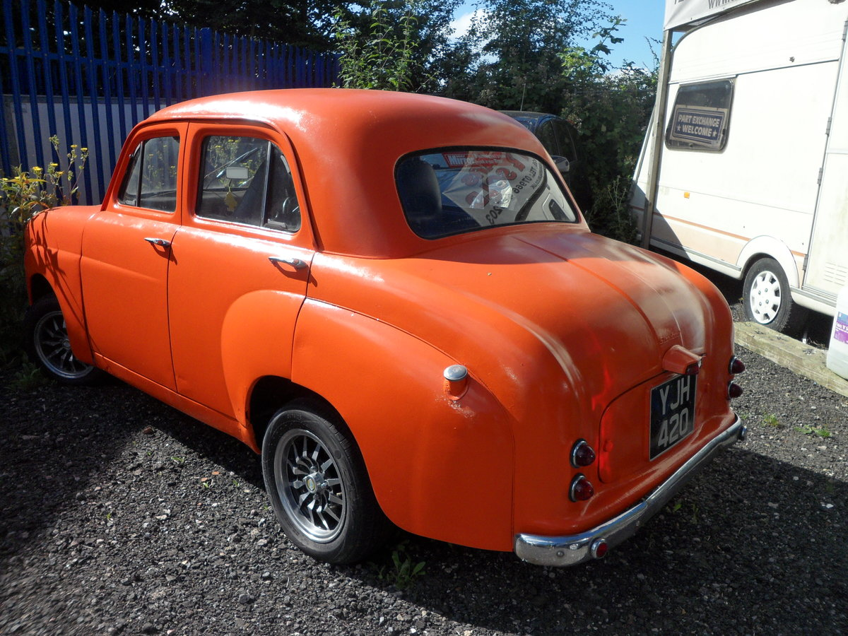 1956 standard hot rod eight project For Sale (picture 1 of 5)