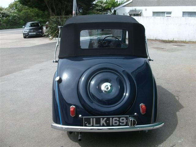 1947 Standard 8 DHC, Just Lovely!  SOLD (picture 5 of 6)