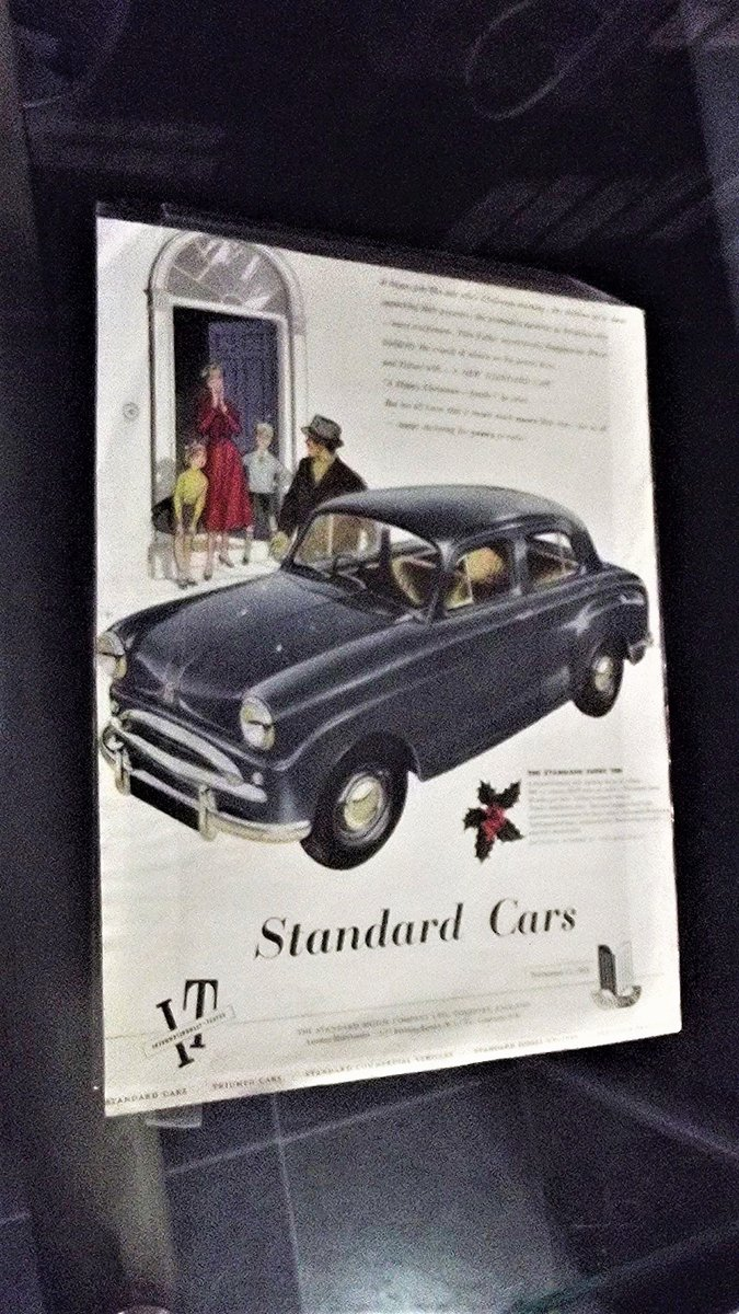 0000 STANDARD FACTORY ADVERTS FOR SALE 1953-1954 For Sale (picture 2 of 3)
