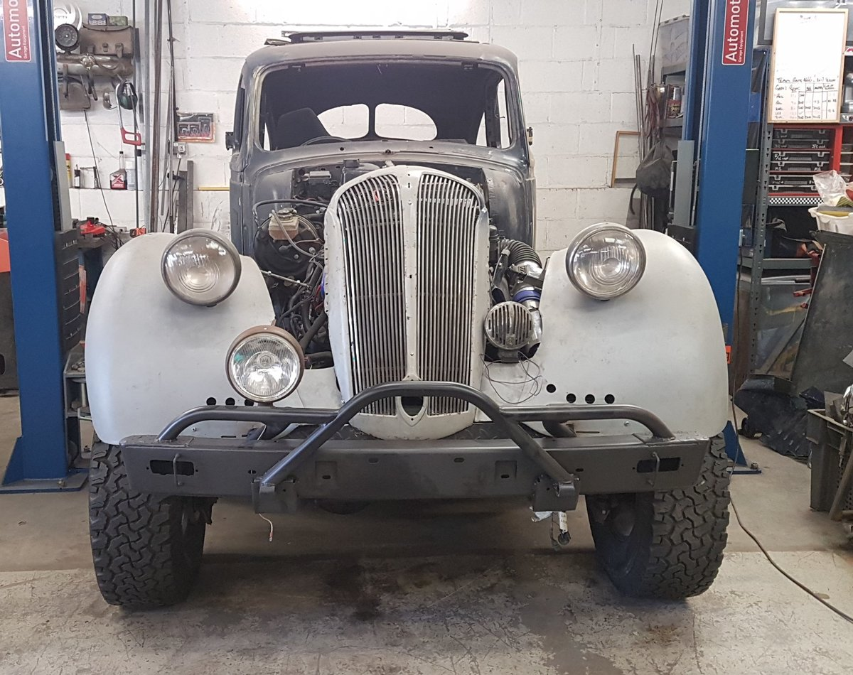 1938 Standard Flying 12 V8 4x4 Hot Rod Project SOLD (picture 1 of 5)