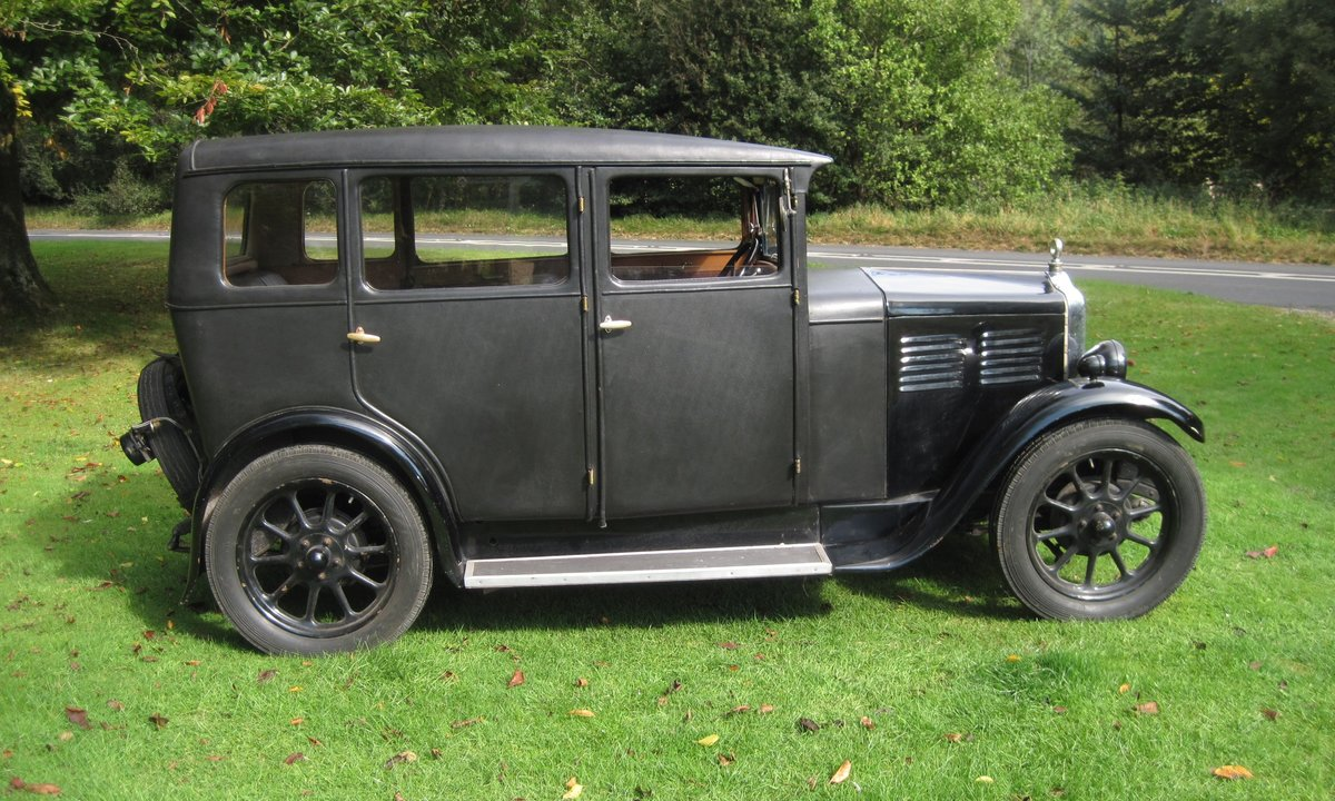1929 Standard Teignmouth, fabric body saloon For Sale (picture 1 of 6)