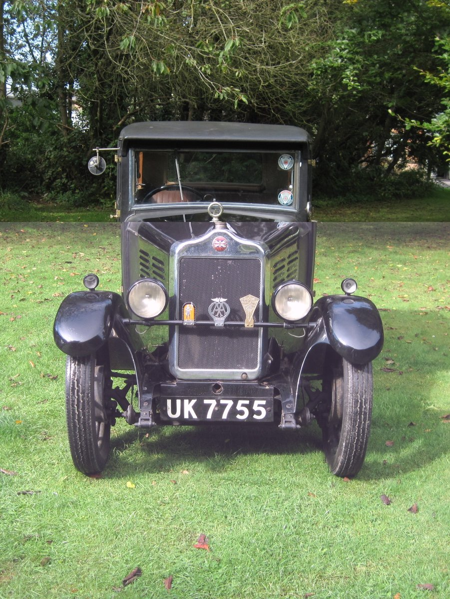 1929 Standard Teignmouth, fabric body saloon For Sale (picture 2 of 6)