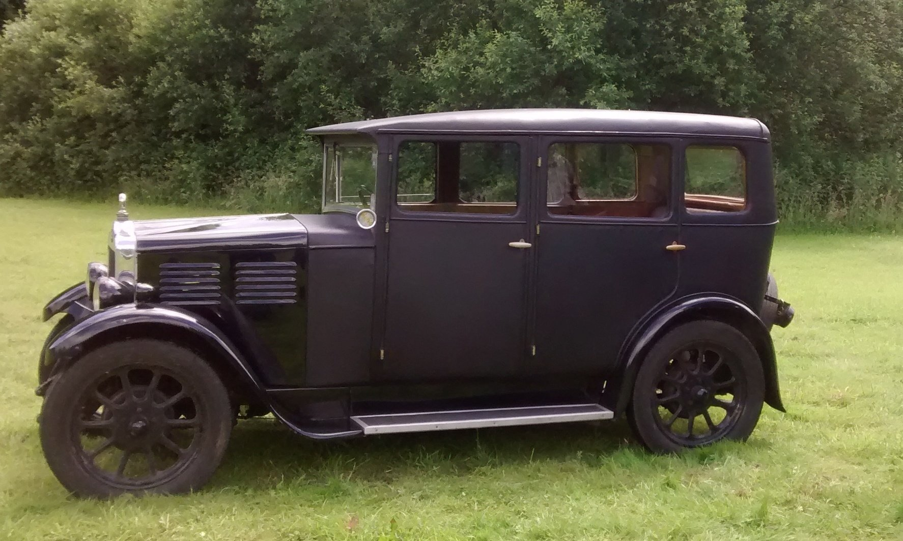 1929 Standard Teignmouth, fabric body saloon For Sale (picture 3 of 6)