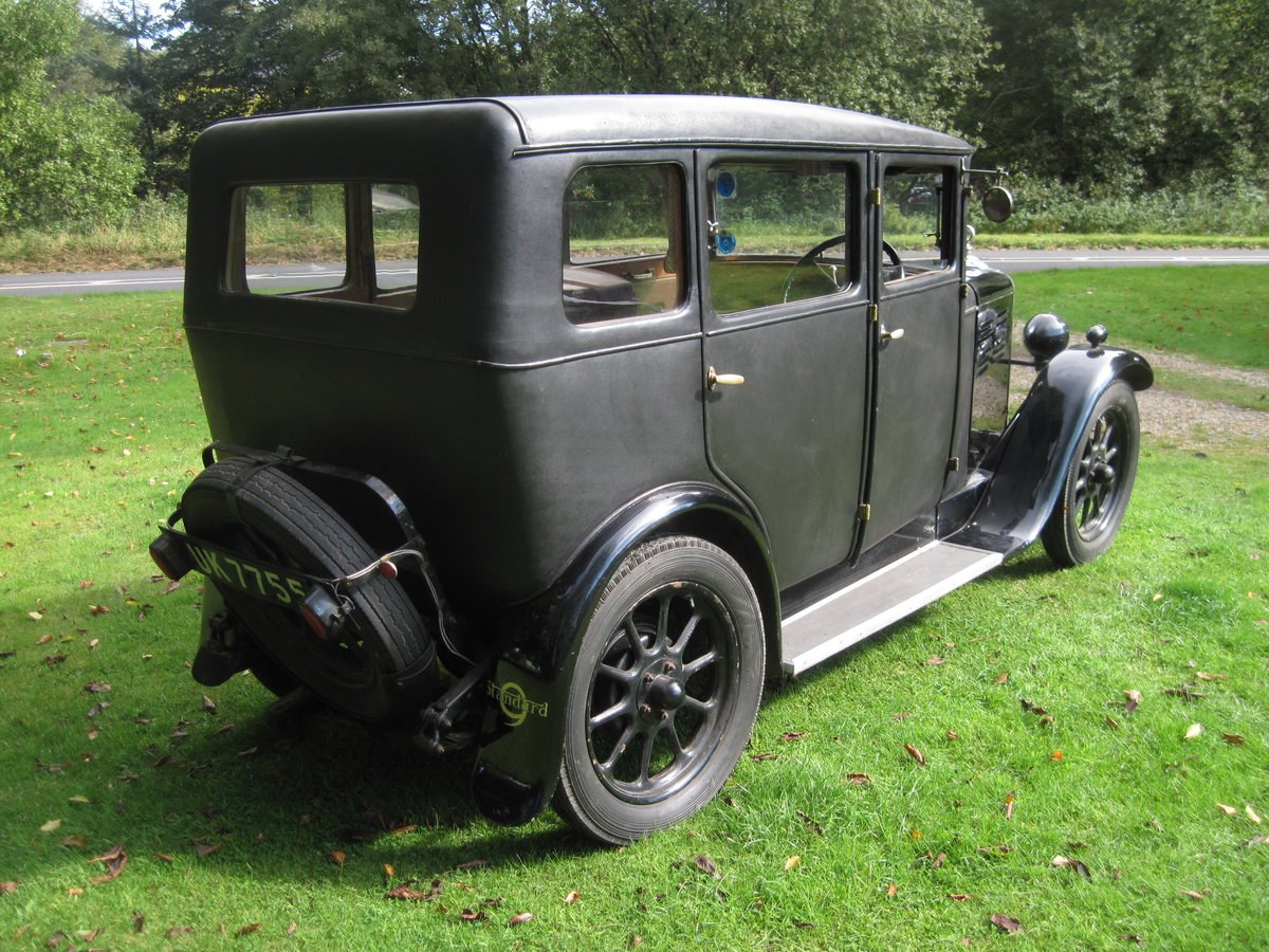 1929 Standard Teignmouth, fabric body saloon For Sale (picture 4 of 6)