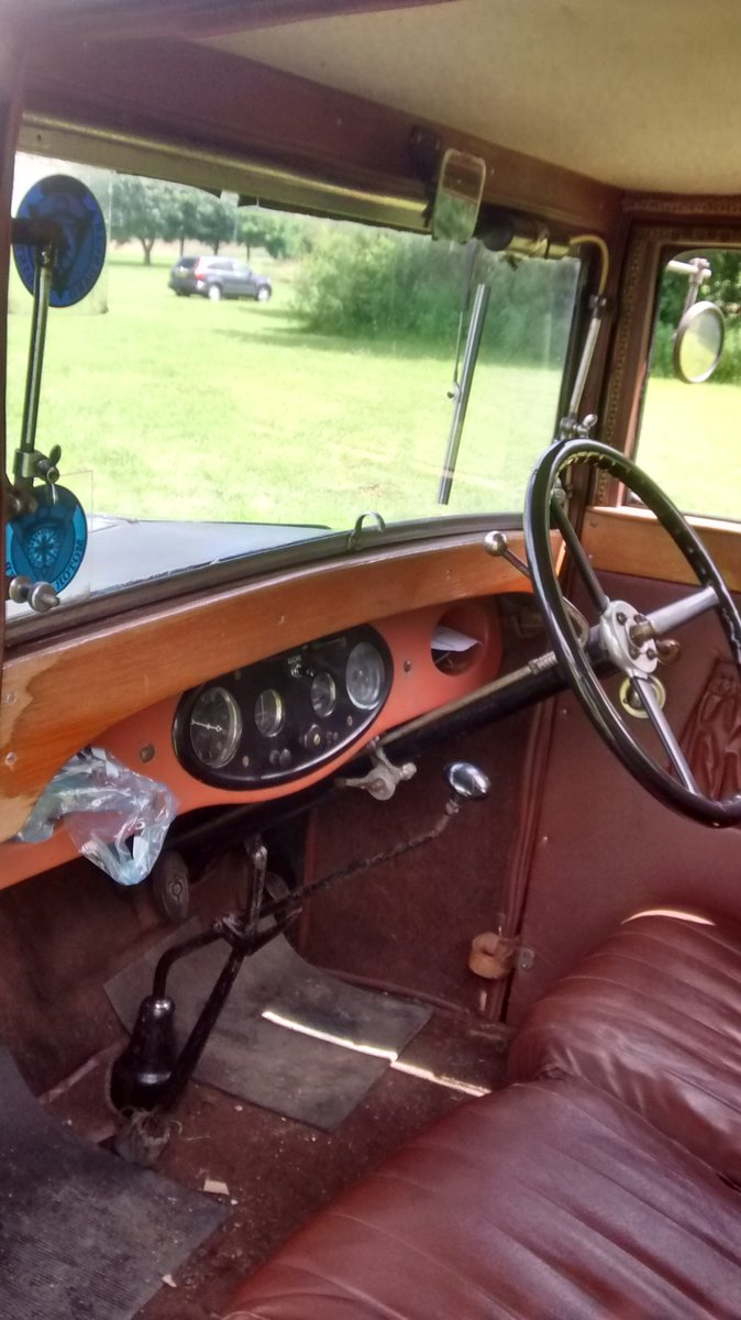 1929 Standard Teignmouth, fabric body saloon For Sale (picture 5 of 6)