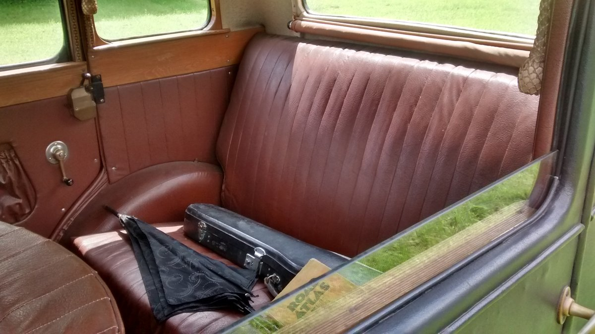 1929 Standard Teignmouth, fabric body saloon For Sale (picture 6 of 6)