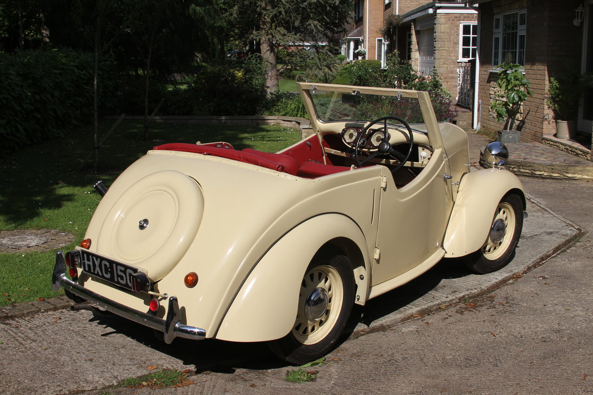 1946 Standard Flying 8 Tourer, gorgeous, no rust etc SOLD (picture 2 of 6)