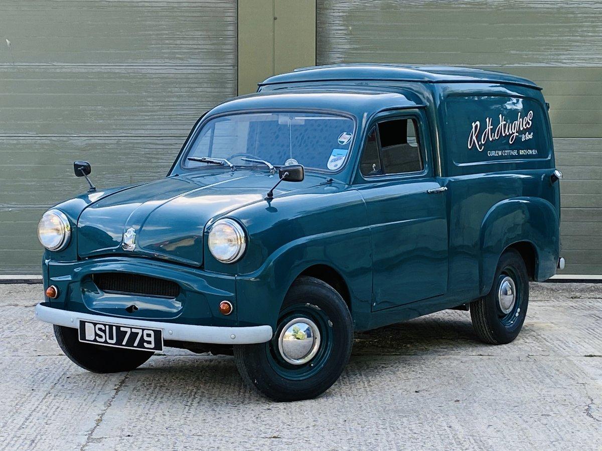 1961 Standard Ten Van 948cc Petrol Manual in Blue For Sale (picture 2 of 6)