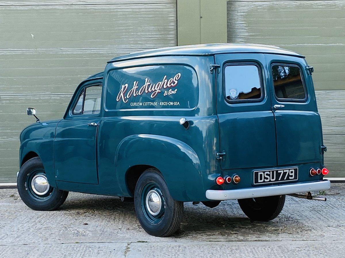 1961 Standard Ten Van 948cc Petrol Manual in Blue For Sale (picture 3 of 6)