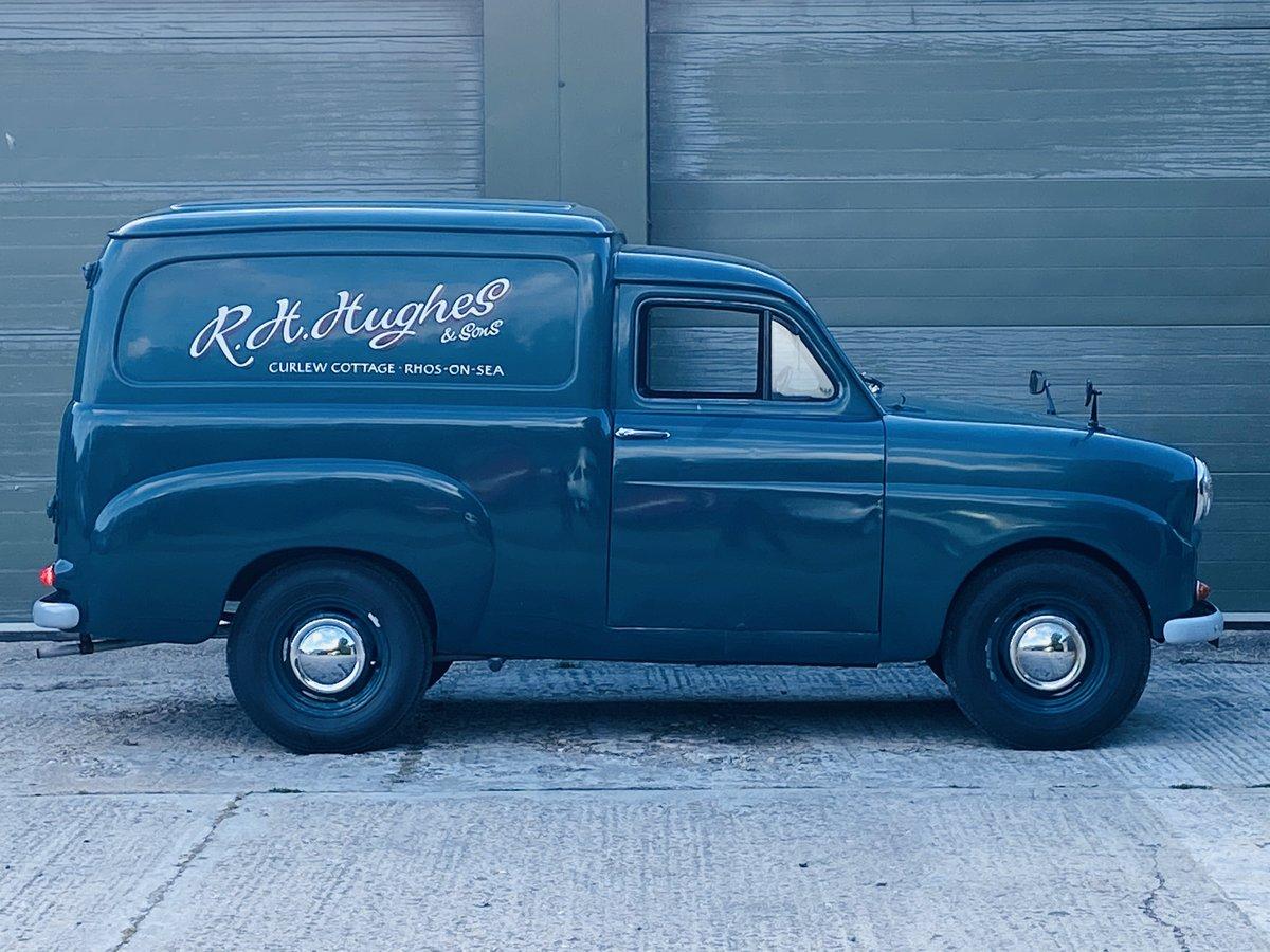 1961 Standard Ten Van 948cc Petrol Manual in Blue For Sale (picture 4 of 6)
