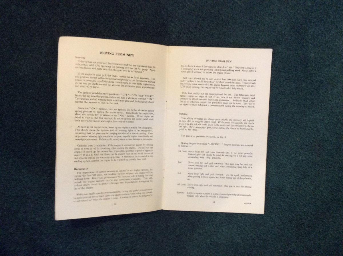Rare ENSIGN Instruction Book For Sale (picture 2 of 2)
