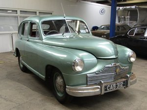 1949 Standard Vanguard Phase I at ACA 22nd August