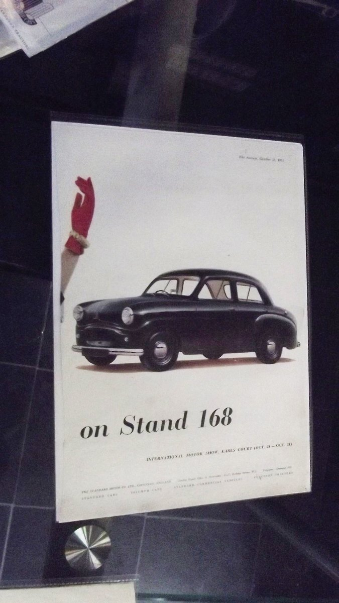 1953 STANDARD CARS  FACTORY ADVERTS  For Sale (picture 3 of 3)