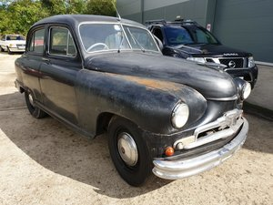 **OCTOBER ENTRY** 1953 Standard Vanguard For Sale by Auction