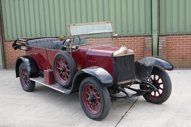 1923 Standard 14hp Warwick Tourer For Sale by Auction (picture 1 of 1)