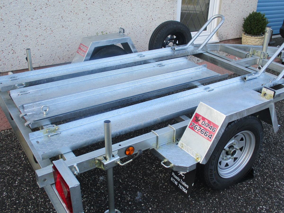 2020 New unused pheonix 2 bike trailer For Sale (picture 1 of 5)