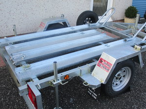 New unused pheonix 2 bike trailer