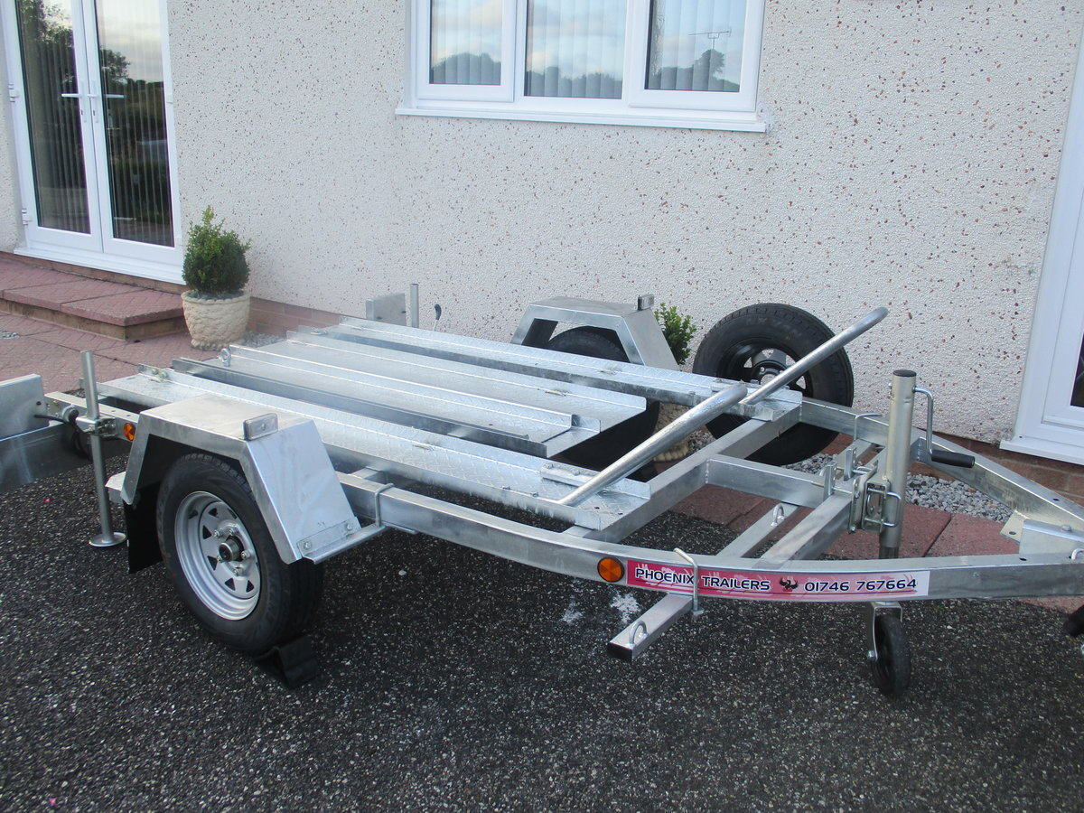2020 New unused pheonix 2 bike trailer For Sale (picture 2 of 5)