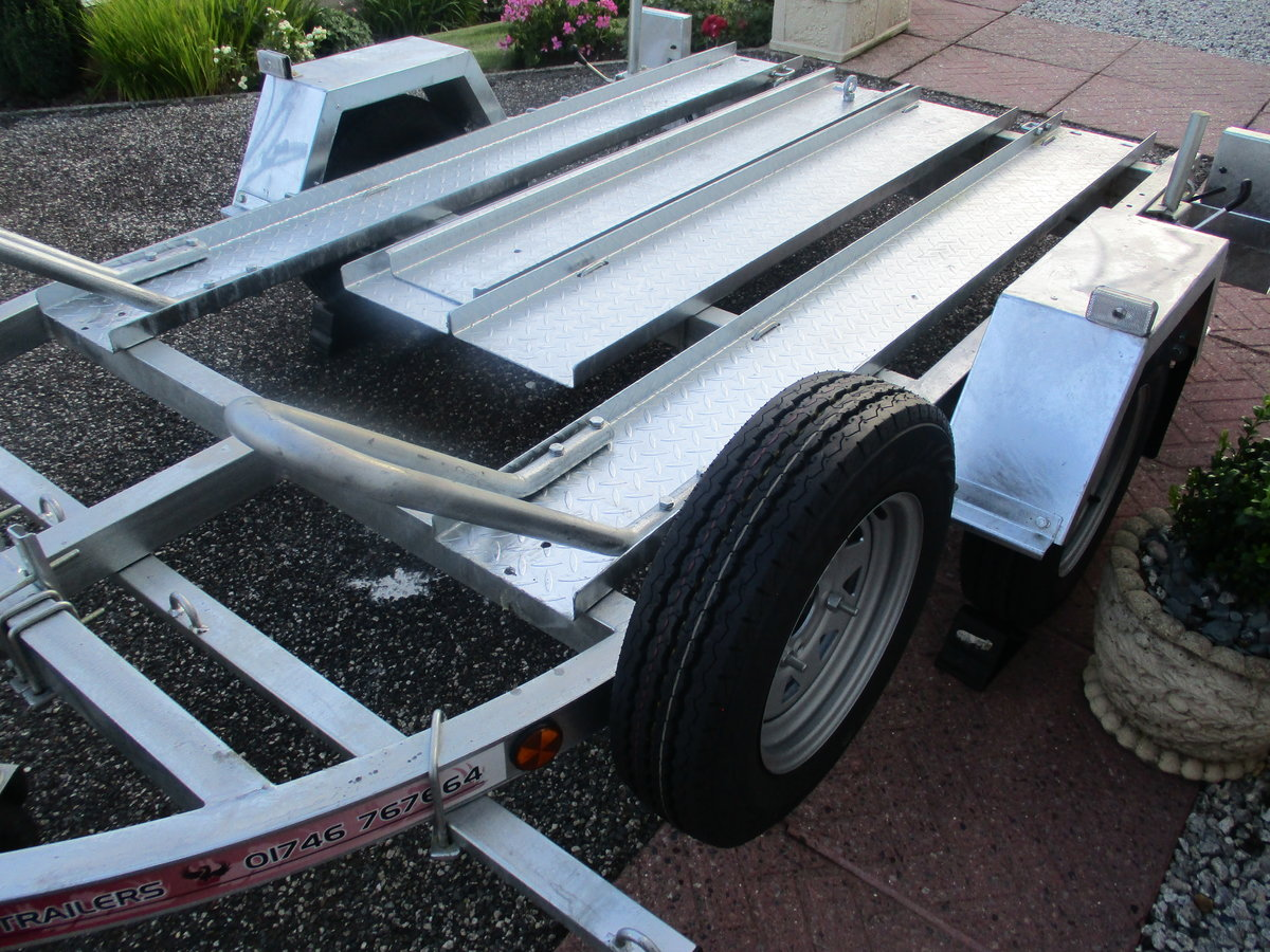 2020 New unused pheonix 2 bike trailer For Sale (picture 3 of 5)