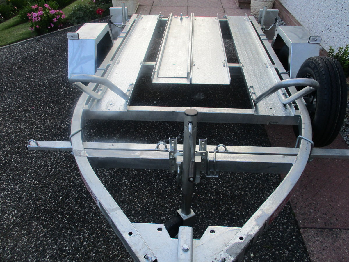 2020 New unused pheonix 2 bike trailer For Sale (picture 4 of 5)