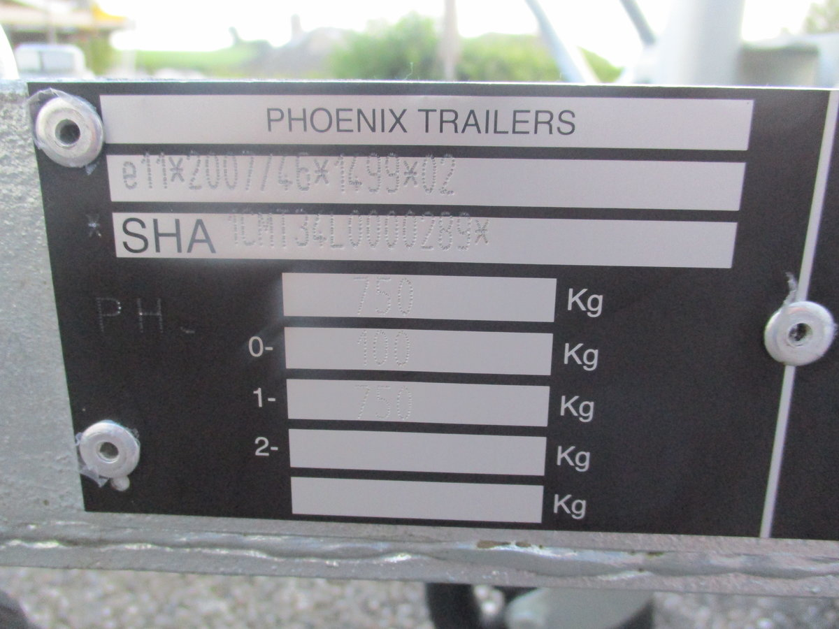 2020 New unused pheonix 2 bike trailer For Sale (picture 5 of 5)