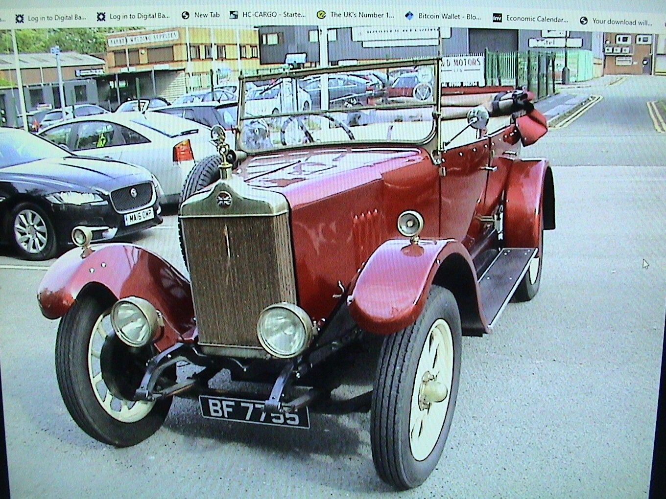 1925 Standard Tourer maroon with uprated 2.0 ford For Sale (picture 2 of 6)