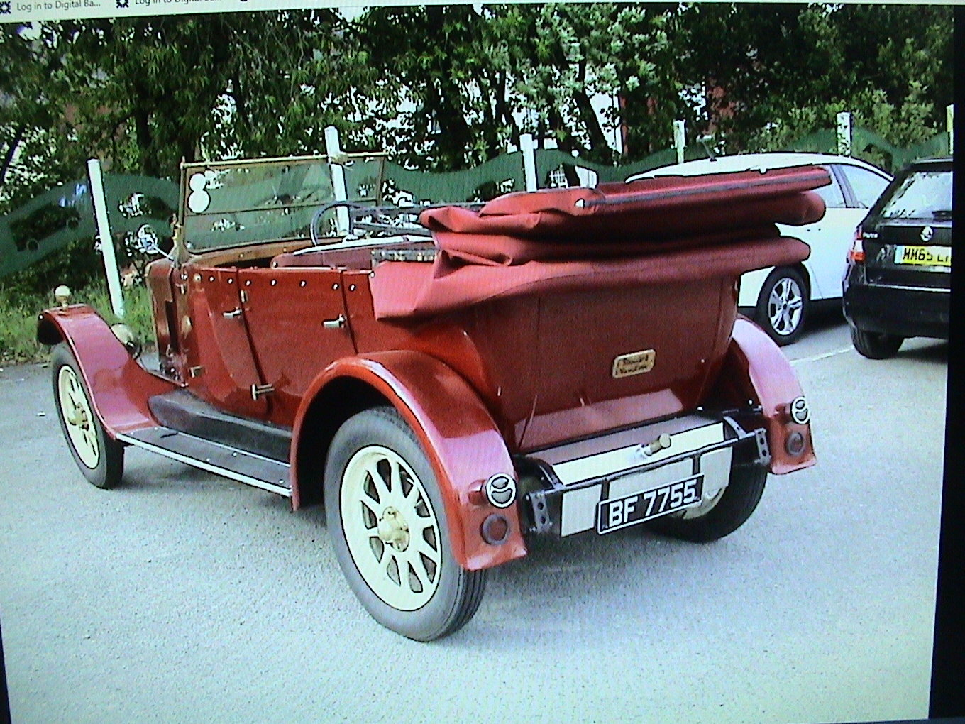 1925 Standard Tourer maroon with uprated 2.0 ford For Sale (picture 3 of 6)