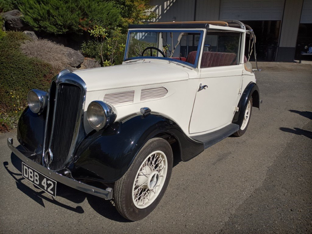 1936 Standard Ten Tickford Drophead For Sale (picture 1 of 6)