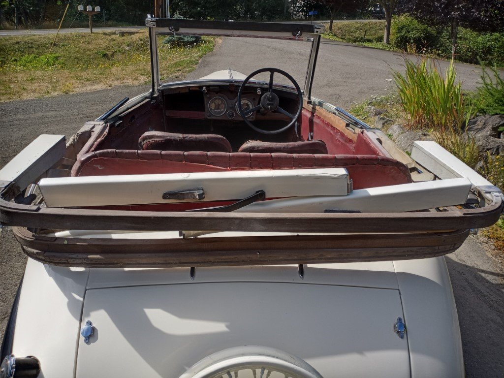 1936 Standard Ten Tickford Drophead For Sale (picture 5 of 6)