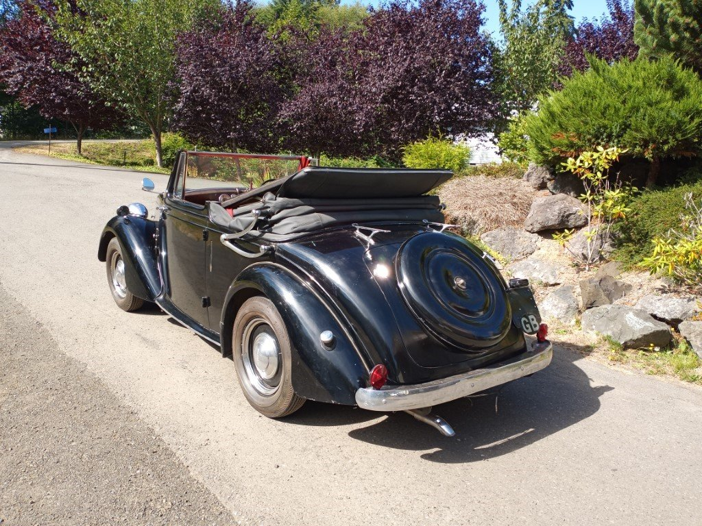 1947 Standard Fourteen Factory Drop Head For Sale (picture 3 of 6)