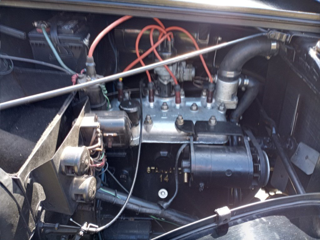 1947 Standard Fourteen Factory Drop Head For Sale (picture 5 of 6)